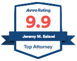 avvo badge Jeremy Saland