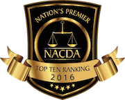 NACDA 2016 Top Ten Ranking